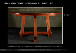 Richard Cohen Custom Furniture, Fine Furniture and Cabinetry