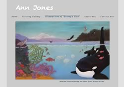 Pastel artist and illustrator Ann Jones lives and paints on Orcas Island, Washington State